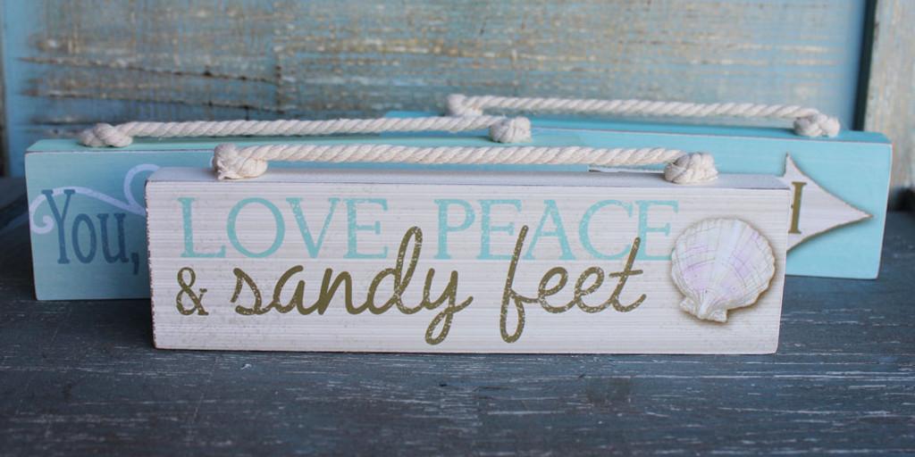Love, Peace and Sandy Feet