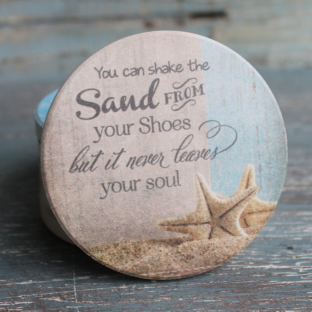 You can shake the Sand from your Shoes, but it never leaves you soul.