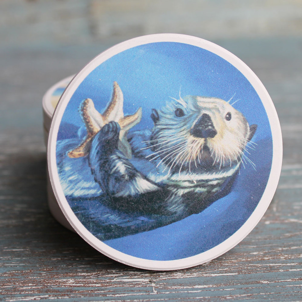 Sea Otter Car Coaster