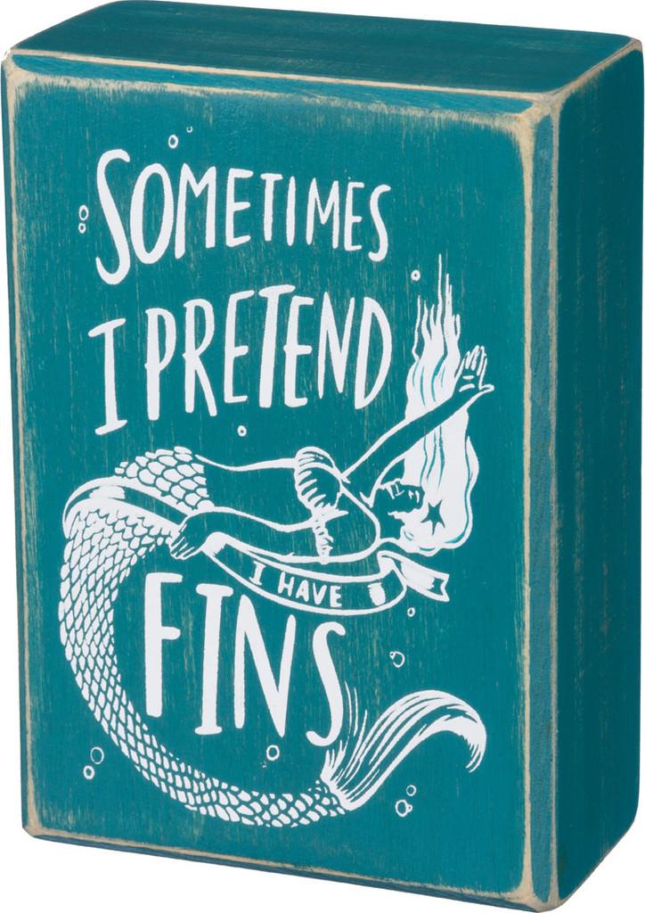 Sometimes I Pretend I Have Fins