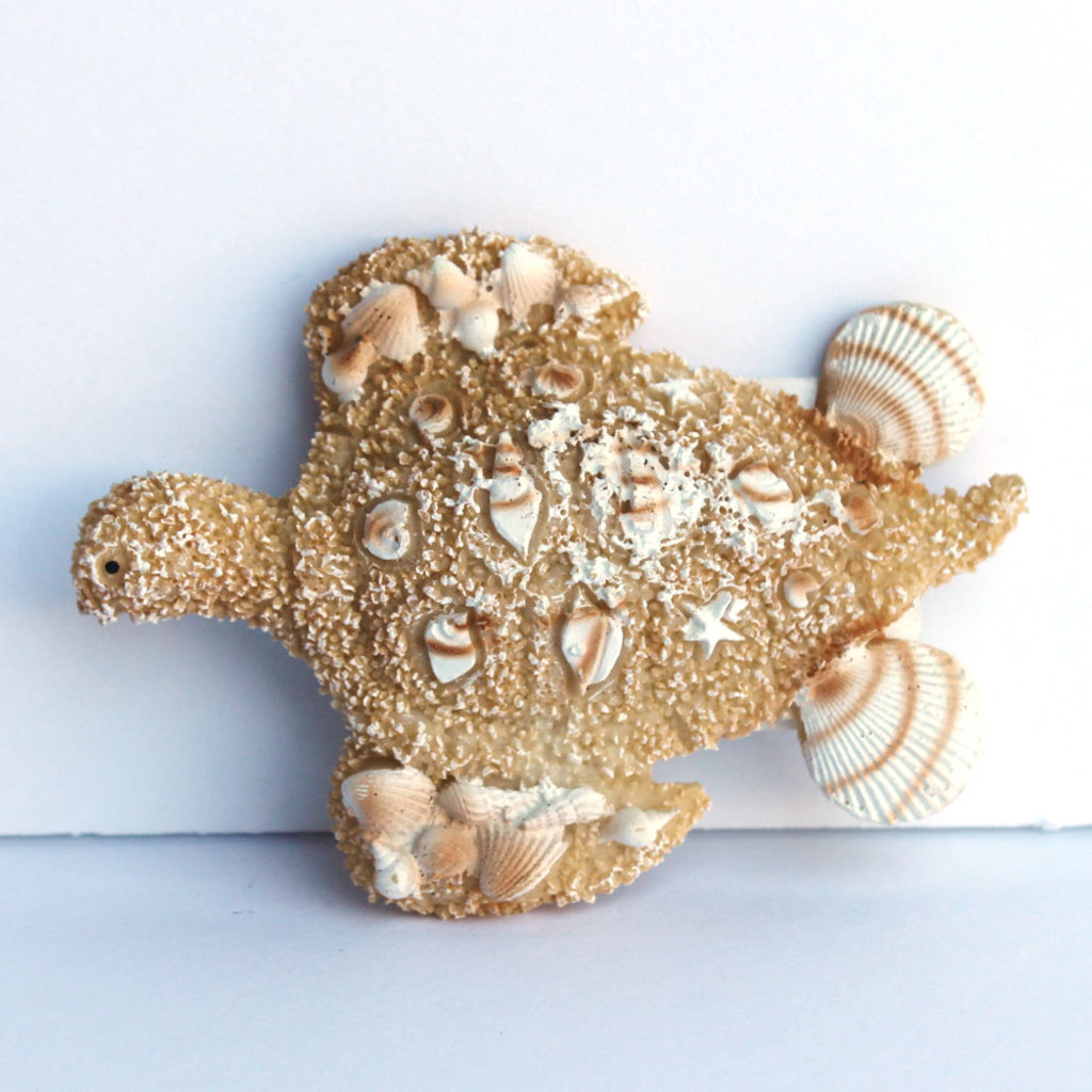 Resin Sea Turtle Magnet