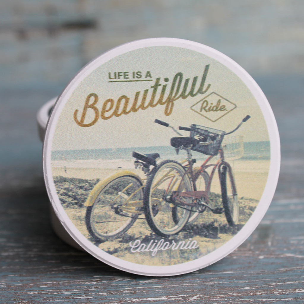Life is Beautiful - Beach Cruisers