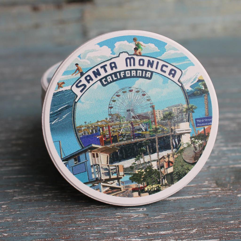 Santa Monica Montage Car Coaster
