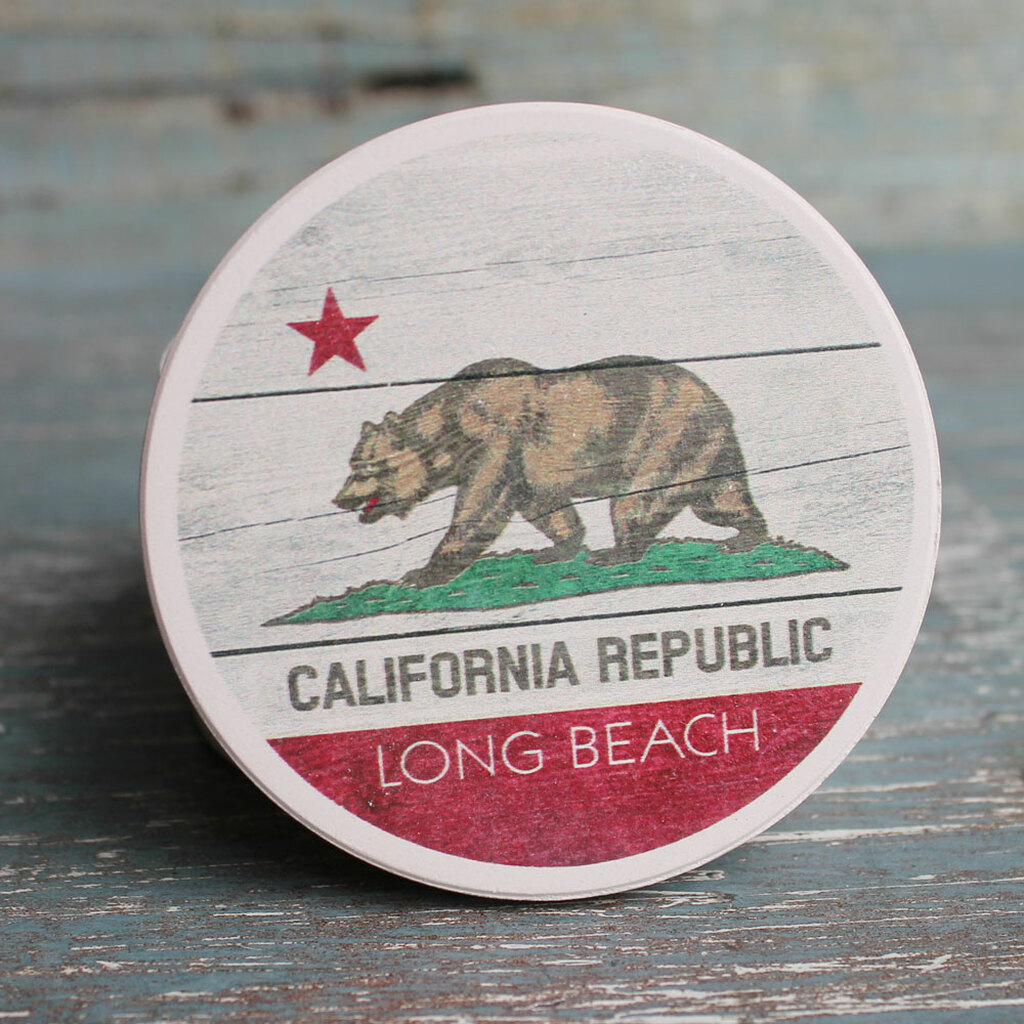 California Republic Car Coaster