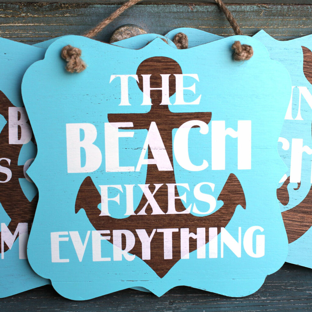 The Beach Fixes Everything - Anchor