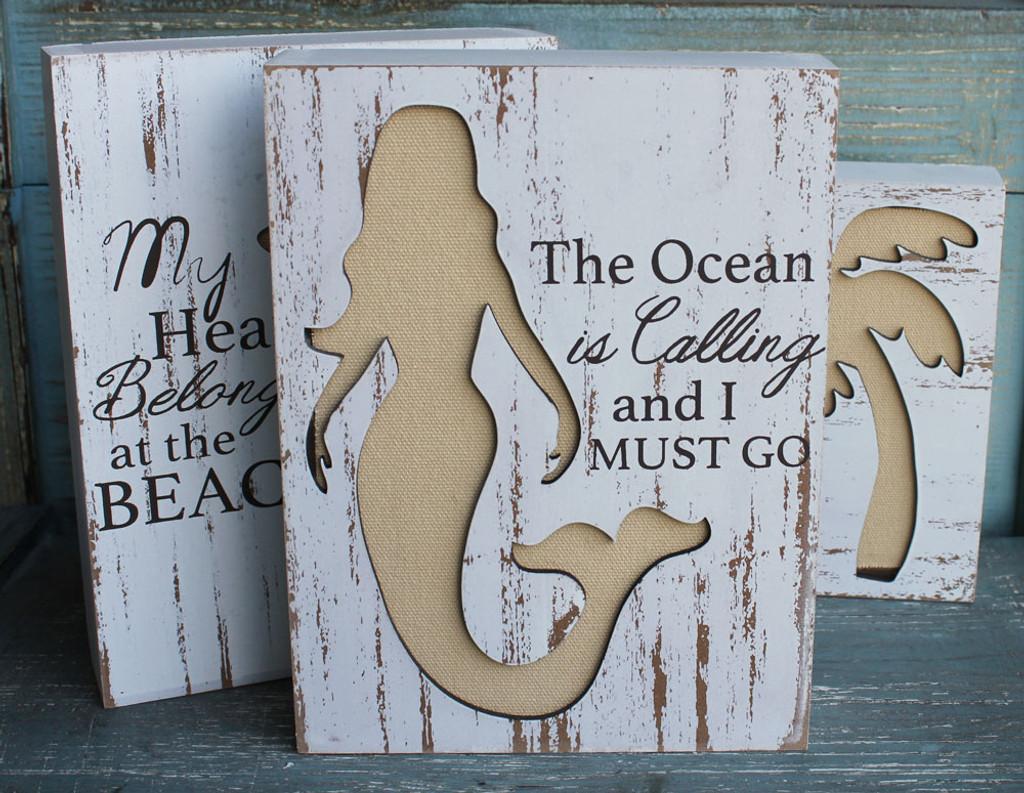 The Ocean is Calling & I Must Go - Mermaid