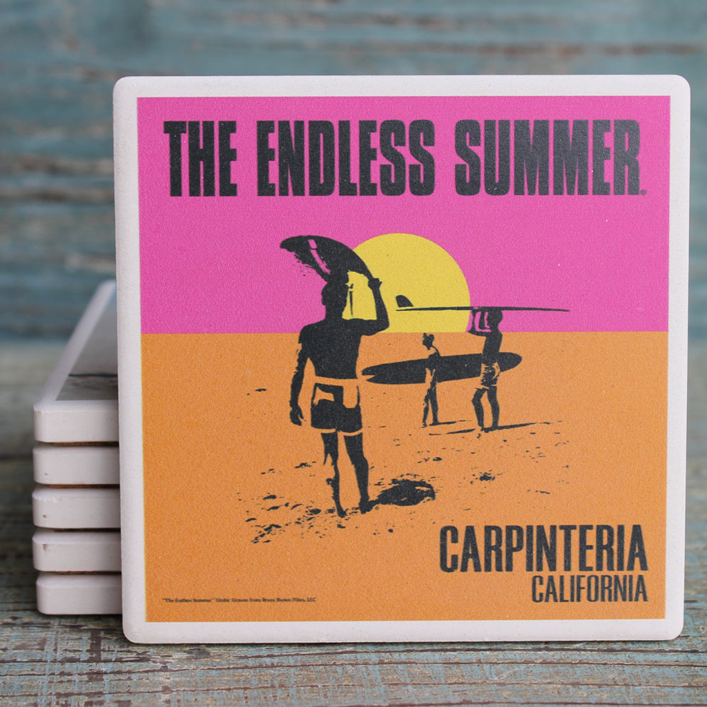 The Endless Summer Carpenteria Coaster