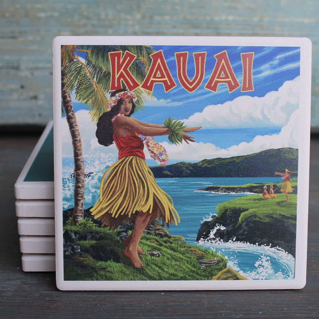 Kauai Hula Girl coaster
