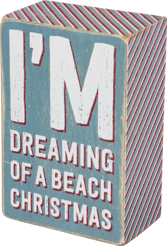 I'm dreaming of a beach Christmas