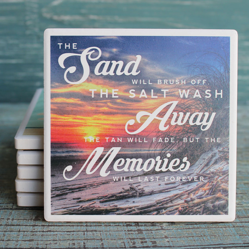 Sand, Salt & Memories Coaster