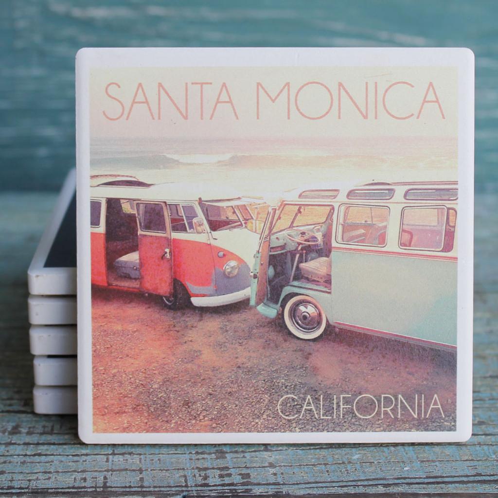 Santa Monica VW Vans Coaster