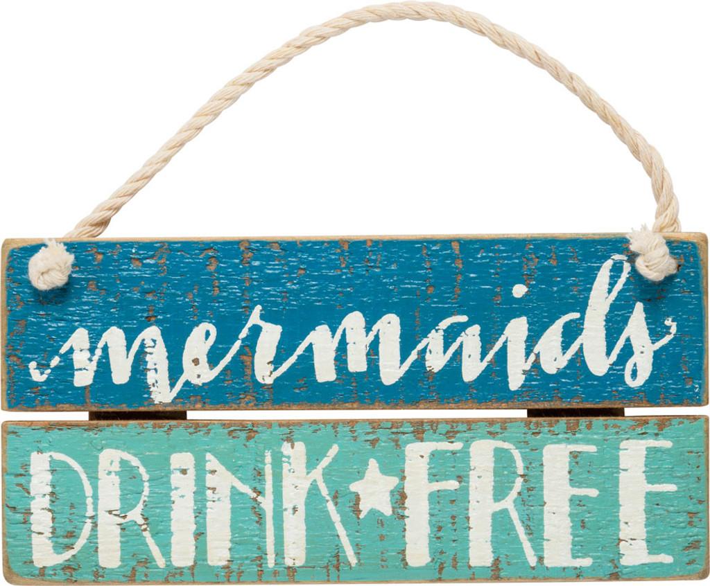 Mermaids Drink Free