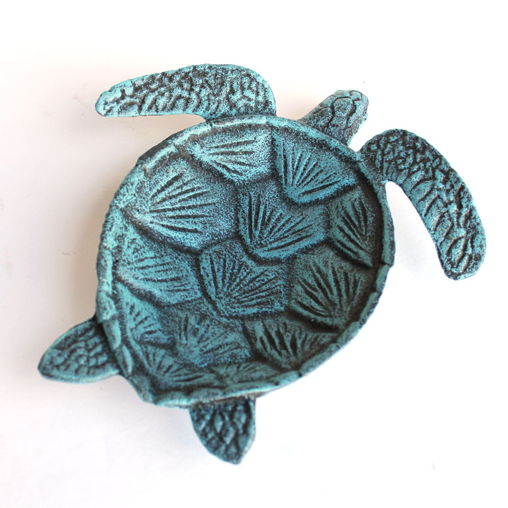 Blue Sea Turtle Bowl