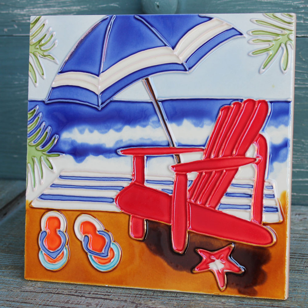 Beach Scene Tile