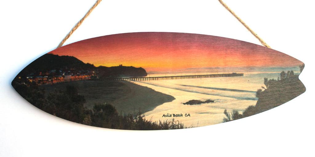 Avila Beach at Sunset