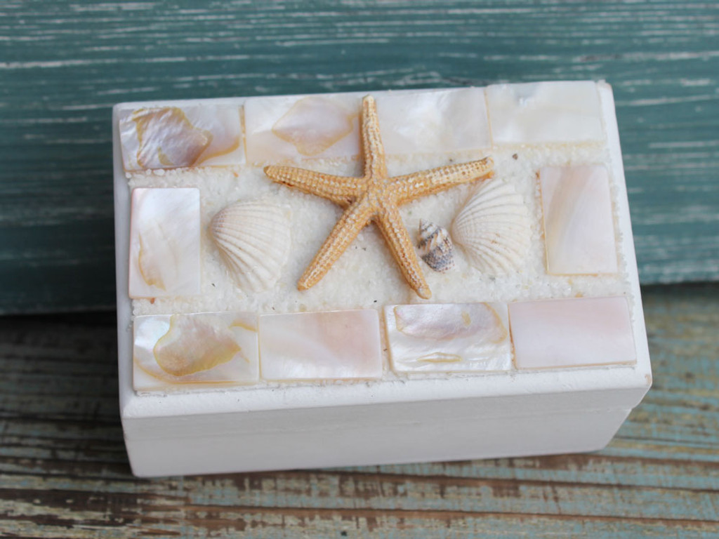 Small Mosaic Trinket Box