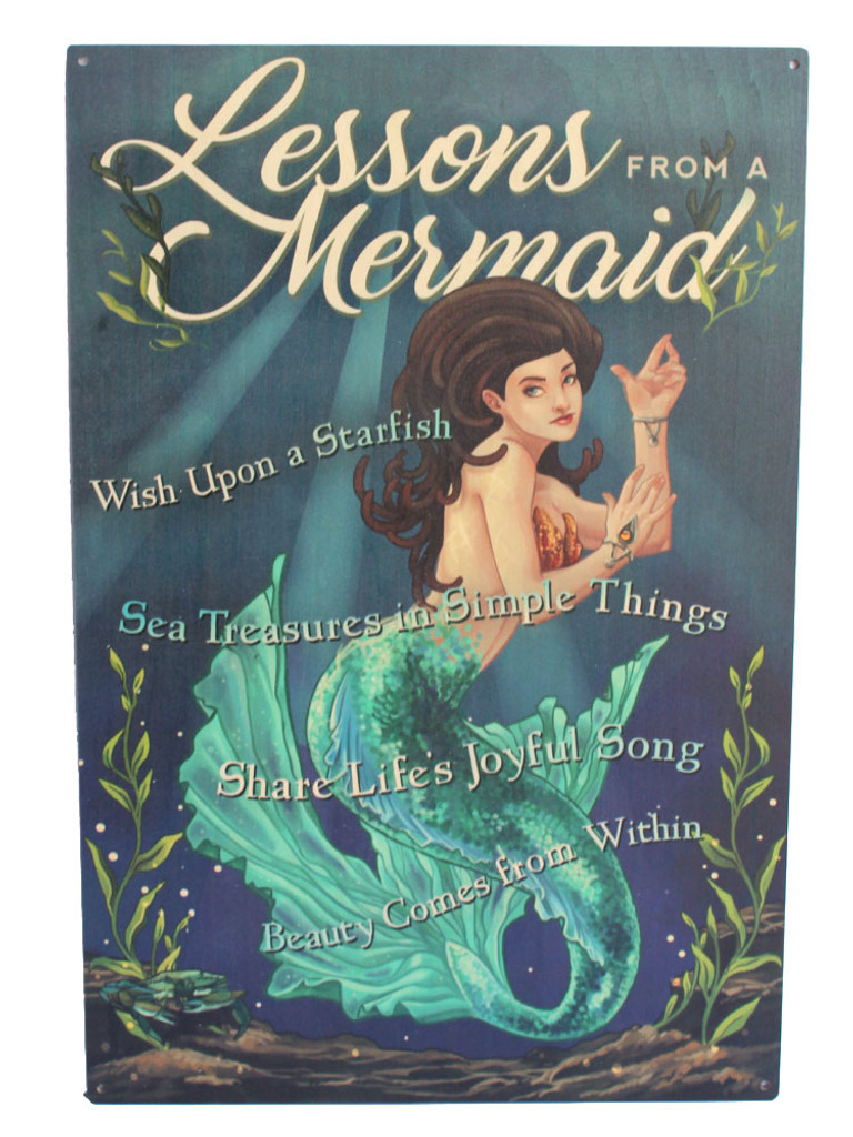 Lessons from a Mermaid Sign