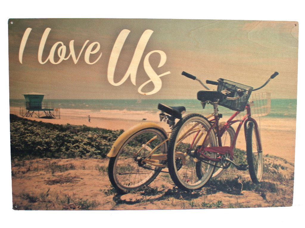 I Love Us - Bicycles on the Beach