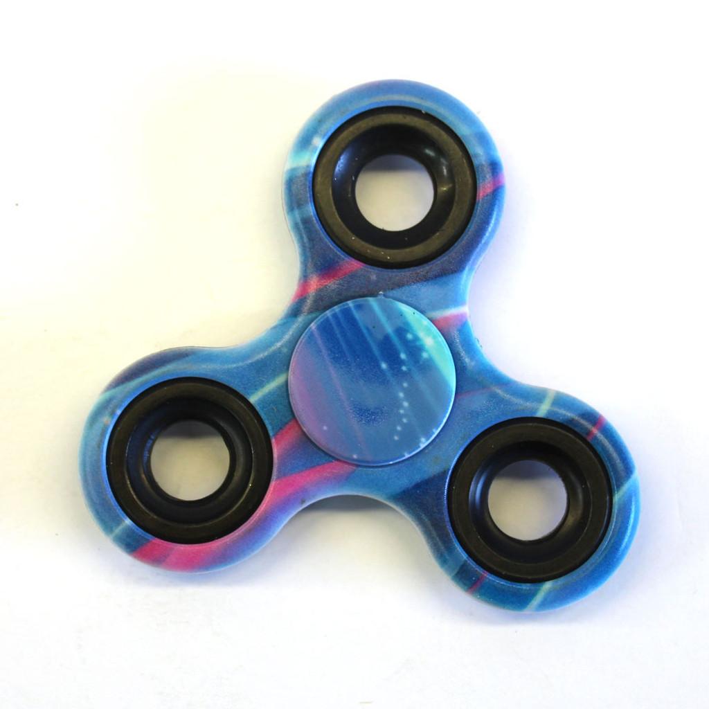 Blue Galactic Fidget Spinner