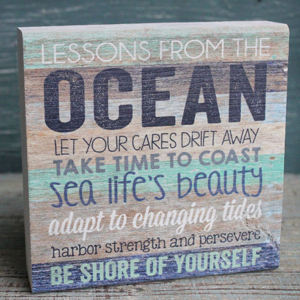 Lessons From the Sea