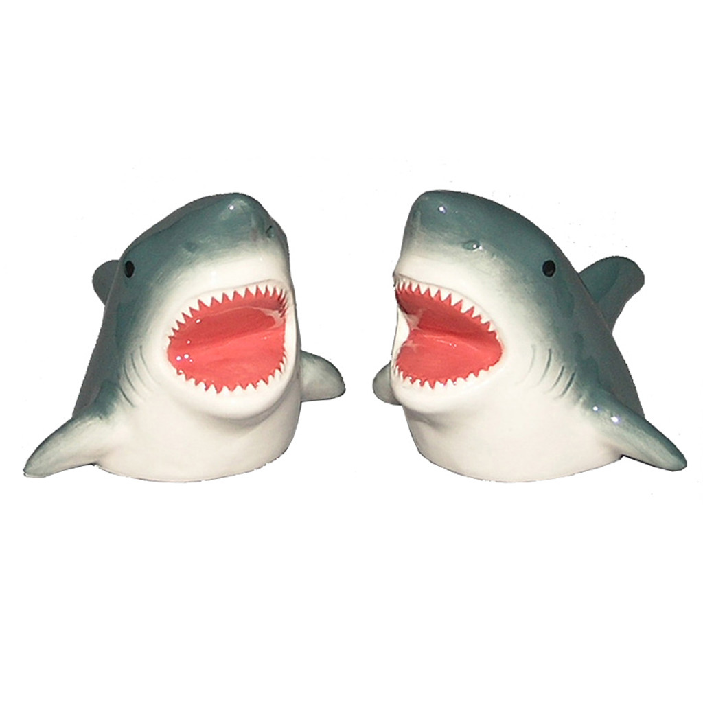 Shark Salt & Pepper Shakers