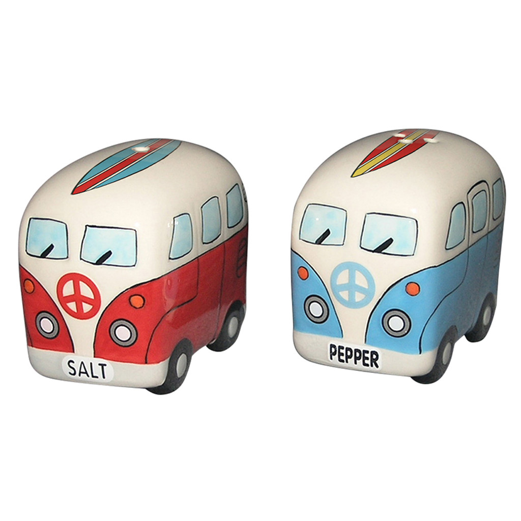 Surfer Van Salt & Pepper Shakers