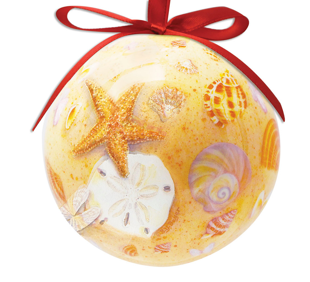 Shellscape Ball Ornament