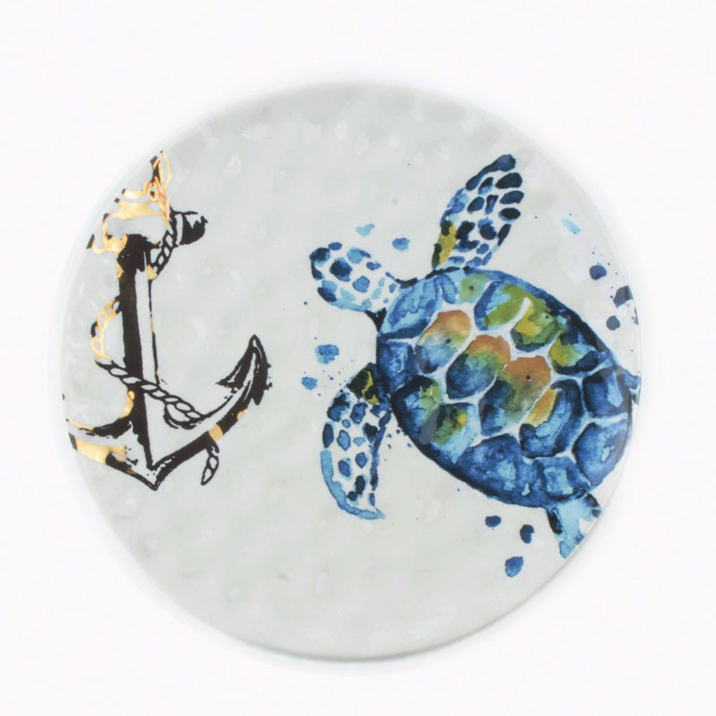 Sea Turtle Salad Plate