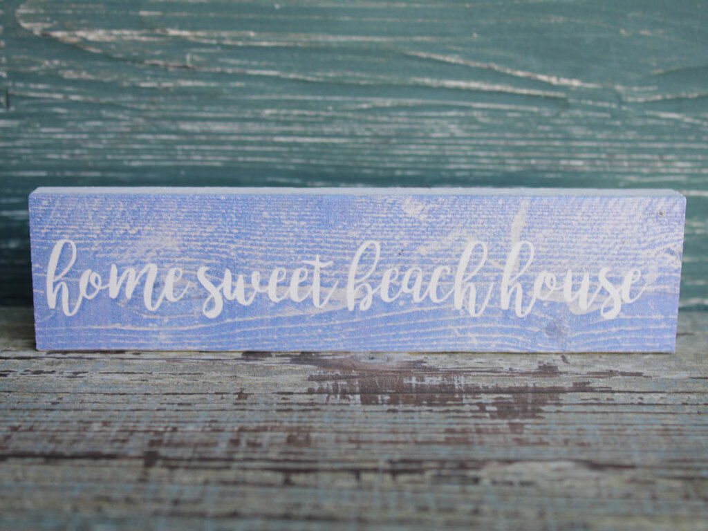 Home Sweet Beach House.