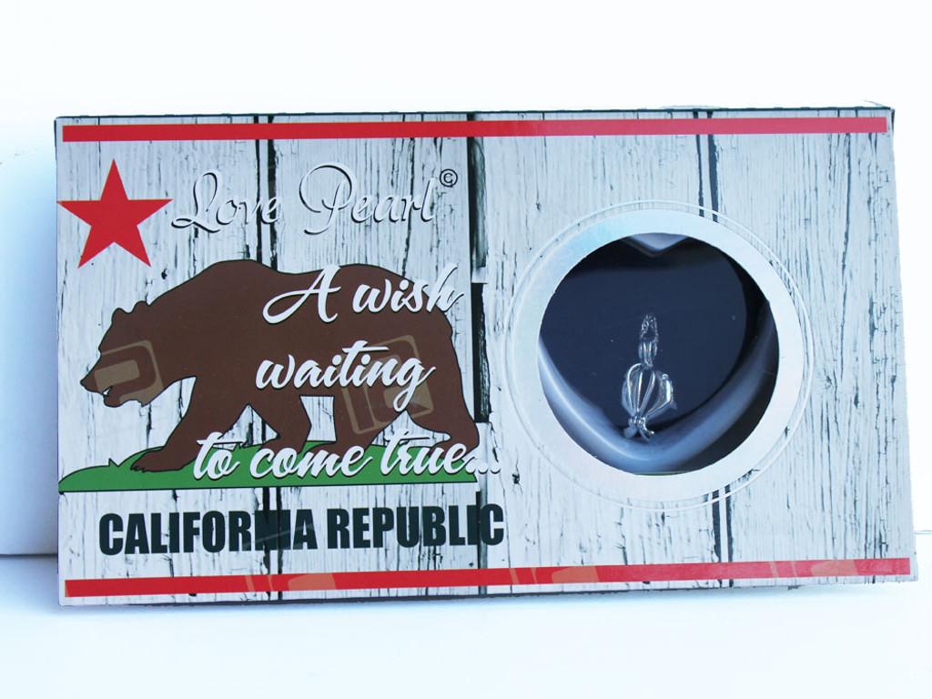 California Republic Love Necklace