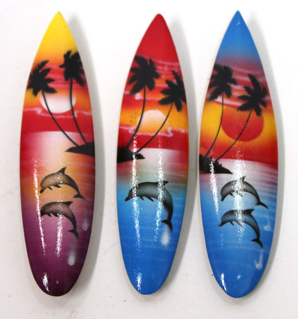 Sunset Surfboard Magnets