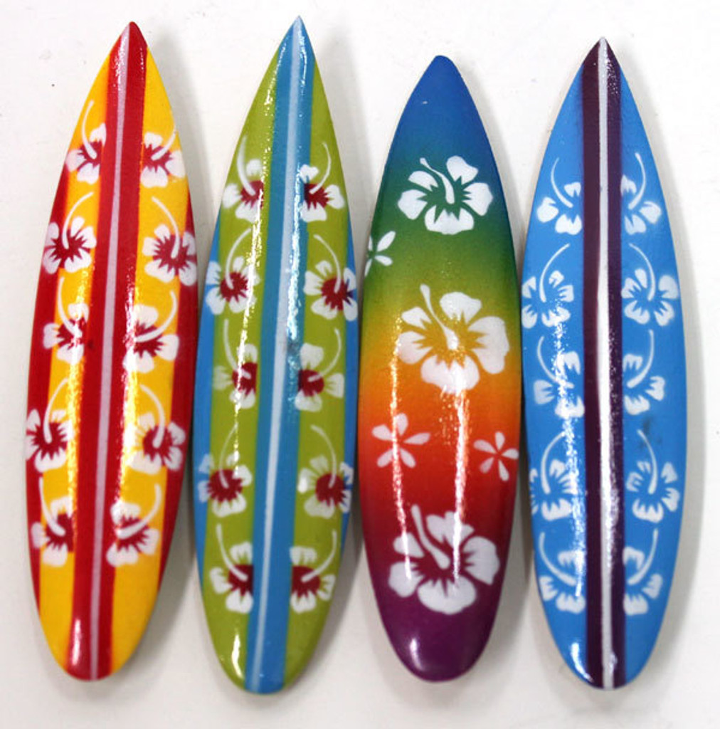 Flower Surfboard Magnets