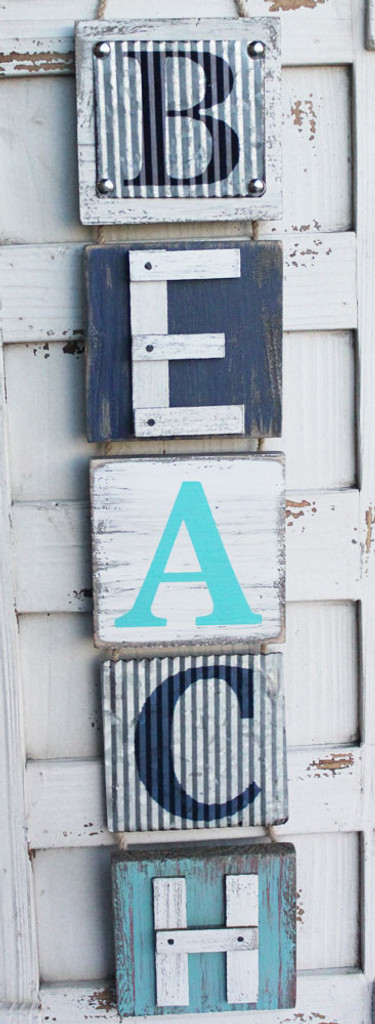 Beach Vertical Sign