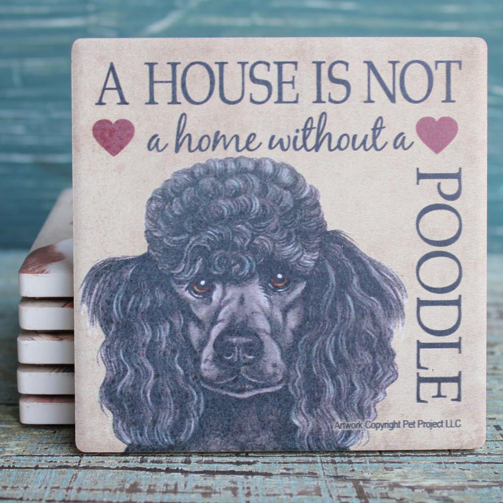 Poodle Dog Coaster