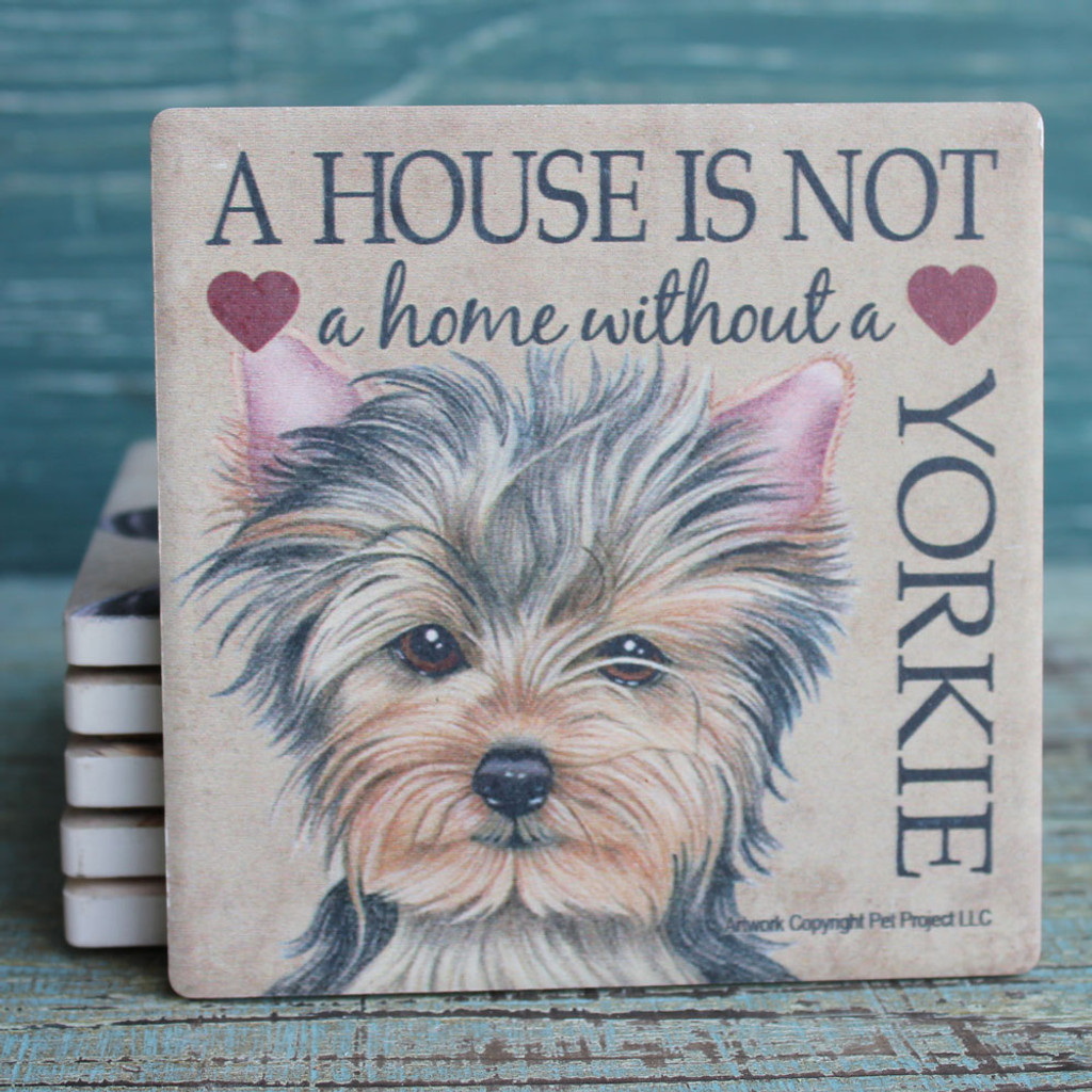 Yorkshire Terrier - Yorkie Dog coaster