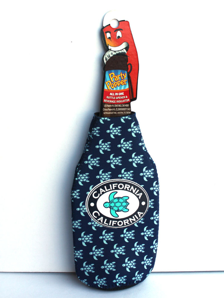 Navy Turtles Party Popper