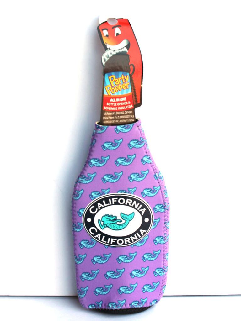 Purple Mermaid Party Popper