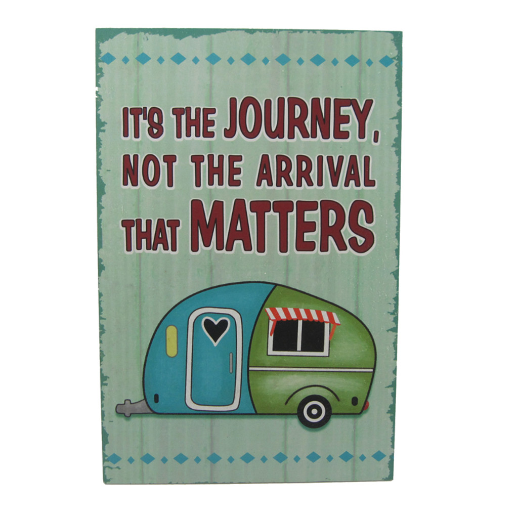 The Journey Matters Plaque