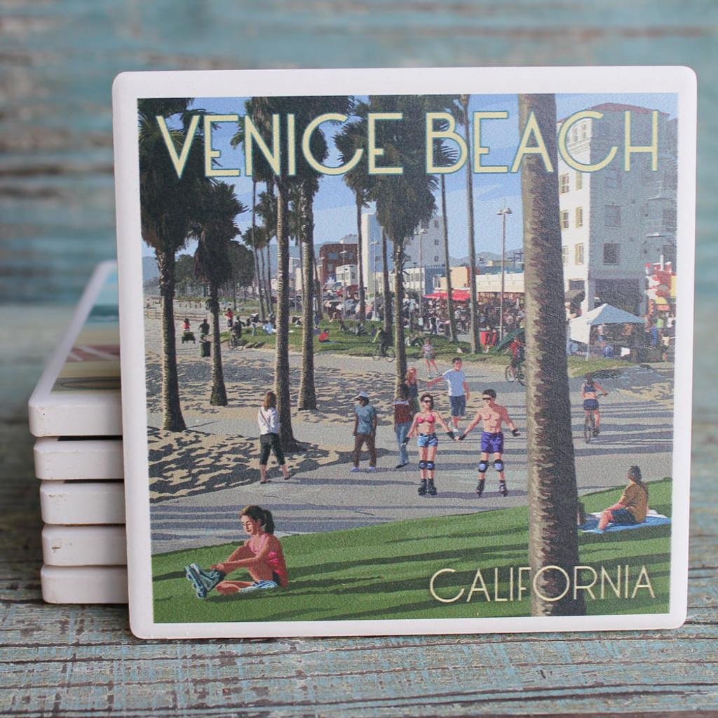 Venice Beach Boardwalk Coaster
