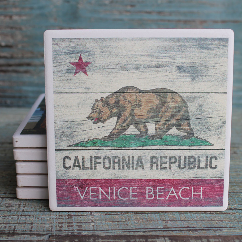 Venice Beach California Republic Coaster