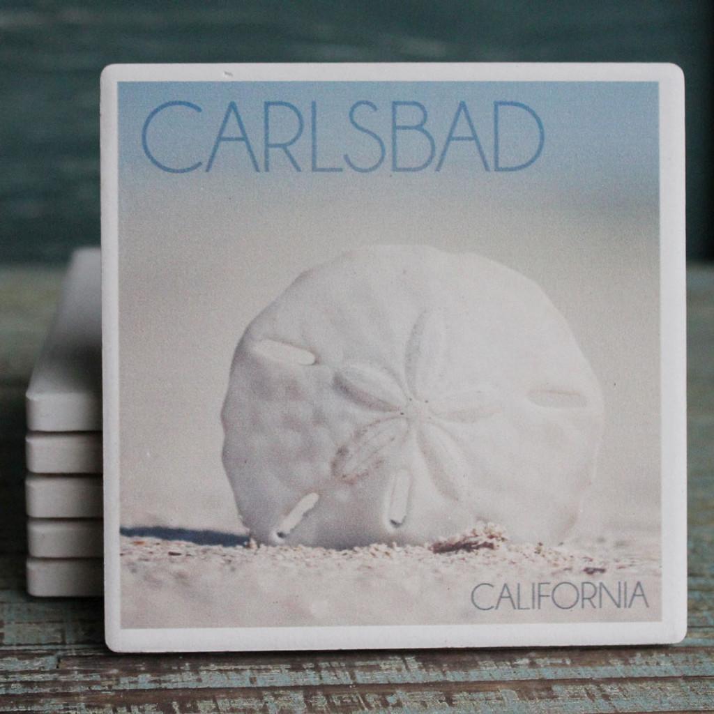 Carlsbad Sand Dollar Coaster