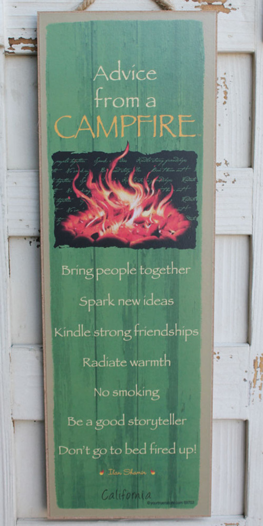Advice from a Campfire