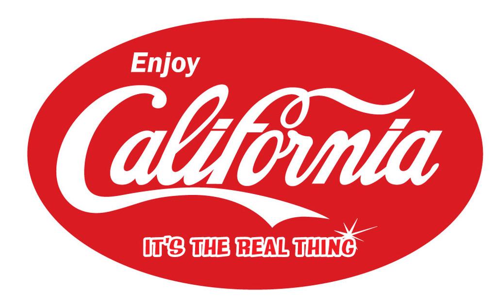Enjoy California Sticker