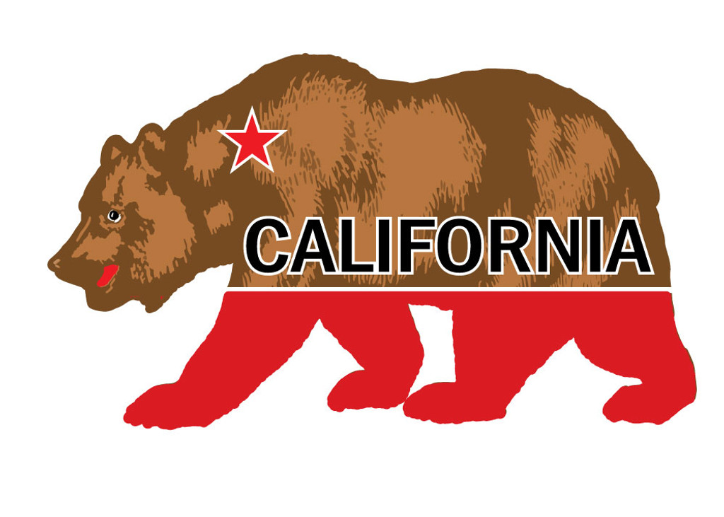 California Bear Sticker