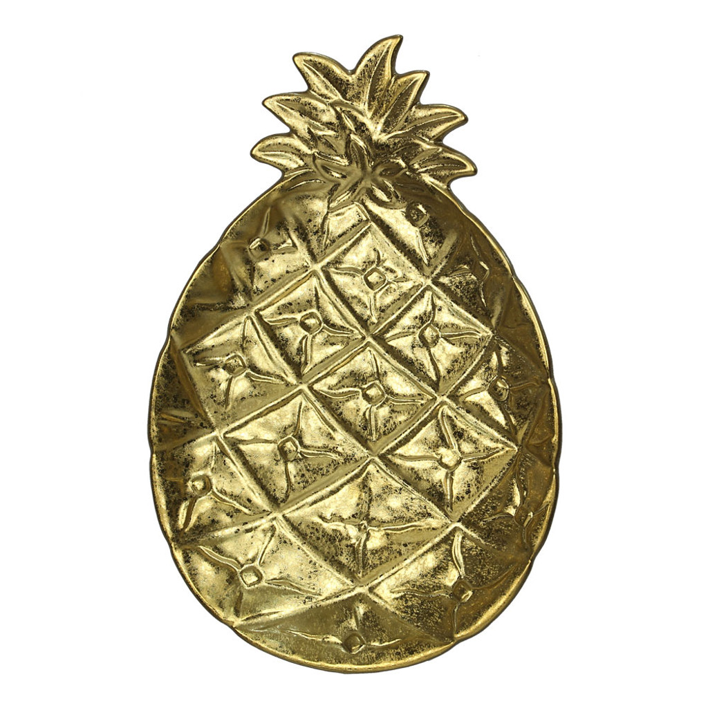 Ceramic Decorative Pineapple Plate