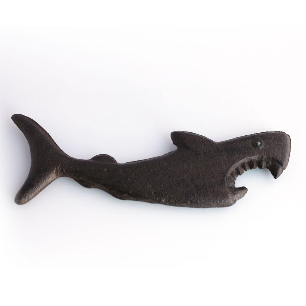 Rust Iron Shark Bottle Opener