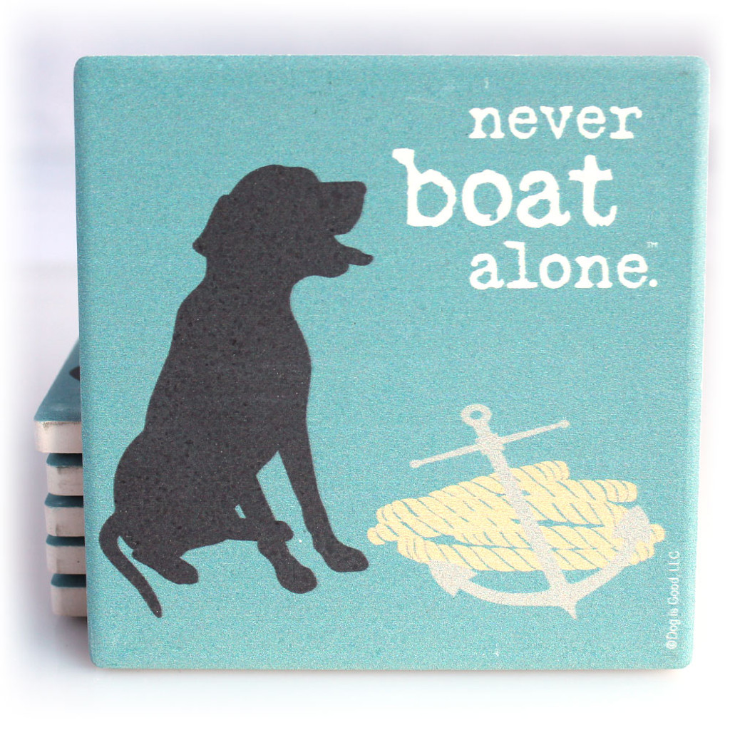 Never Boat Alone Coaster