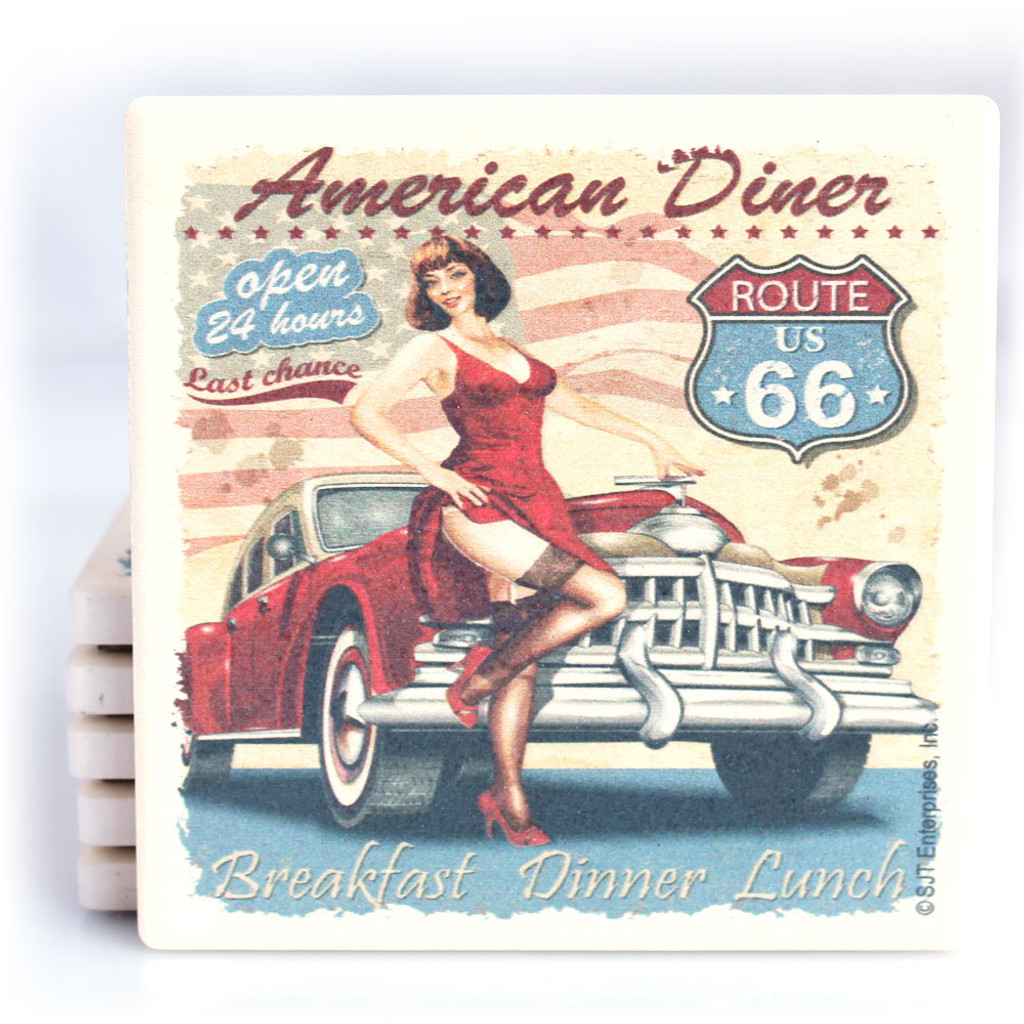 American Diner - Route 66 Coaster