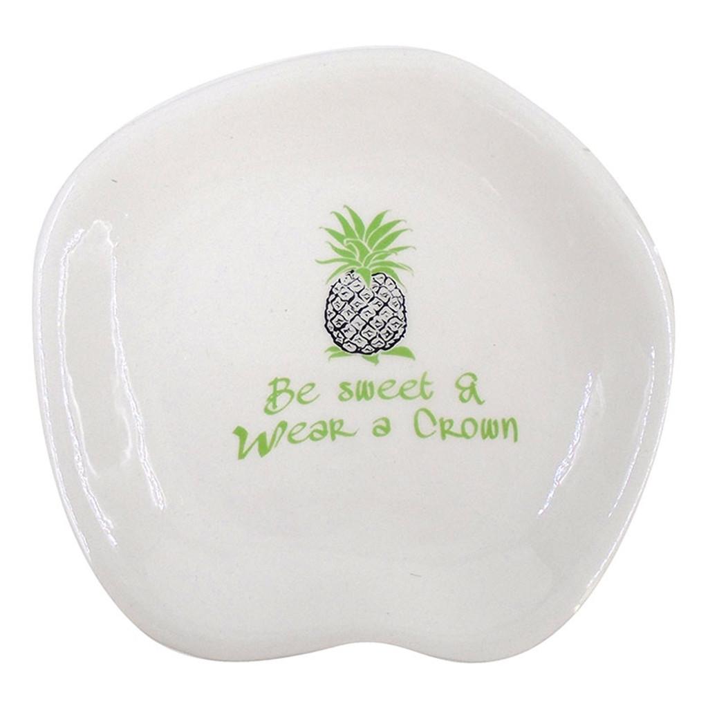 Be Sweet & Wear a Crown Pineapple Dish
