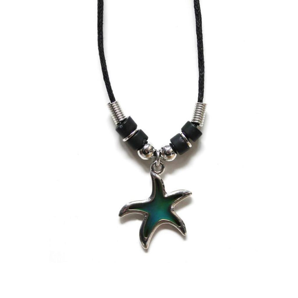 Starfish Mood Necklace